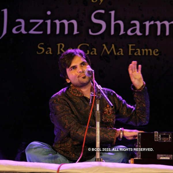 Jazim Sharma performs in Vadodara