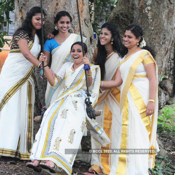 Onam Celebrations at Women's college, Trivandrum