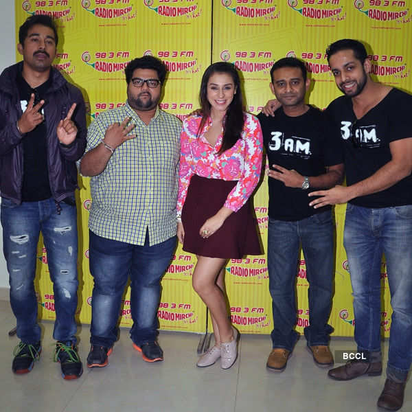 3 Am promotions at Radio Mirchi