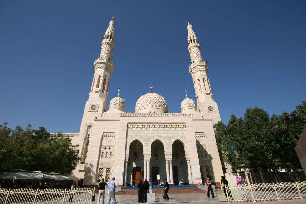 Jumeirah Mosque Dubai Times Of India Travel