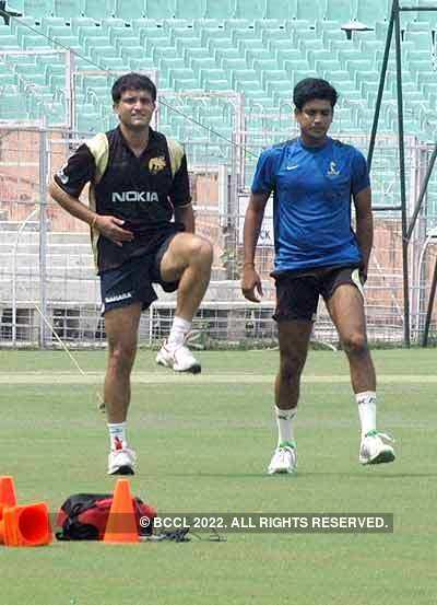 Practice session: KKR