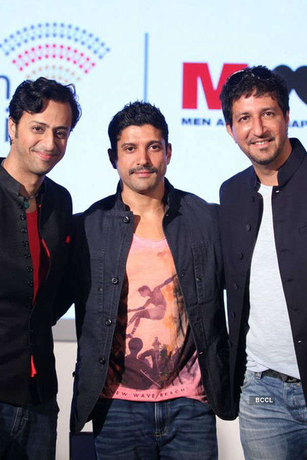 Farhan @ MARD song launch