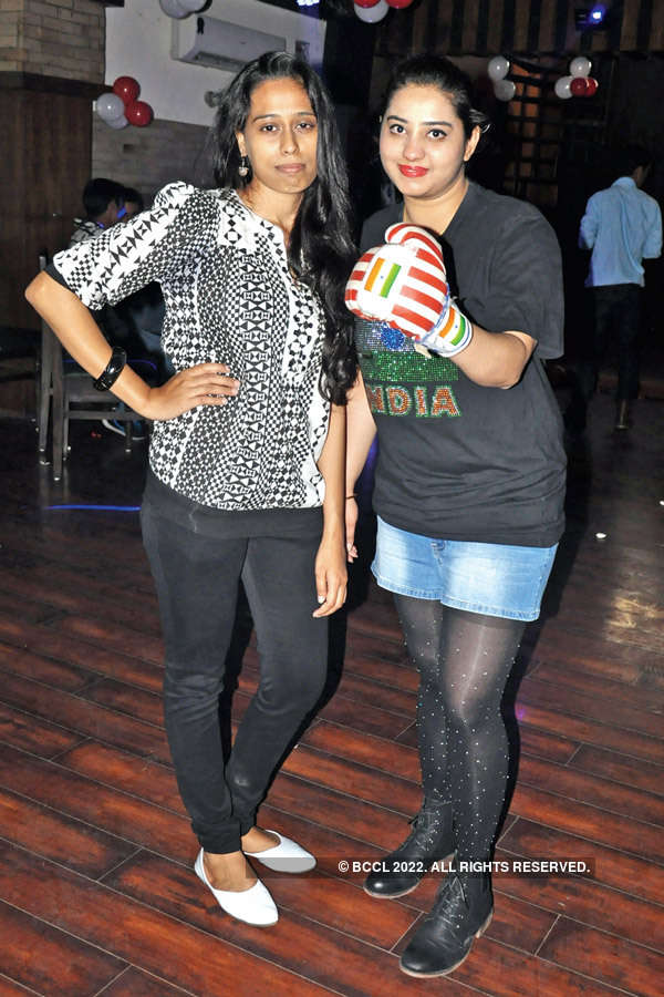 Freshers' party in Indore