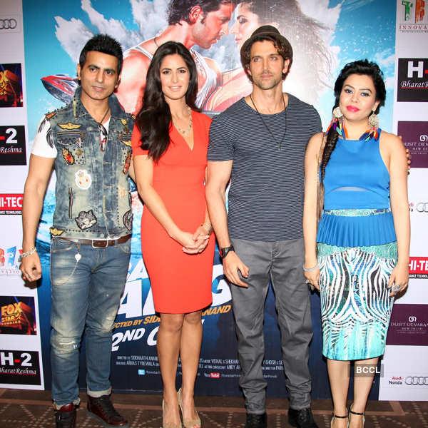 Hrithik, Katrina at H-2's event