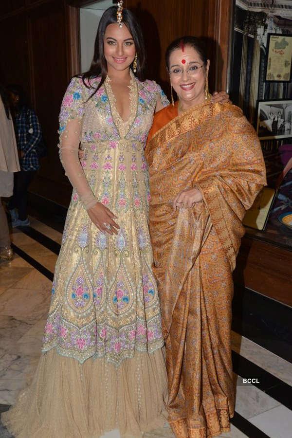 Sonakshi walks for Tarun Tahiliani