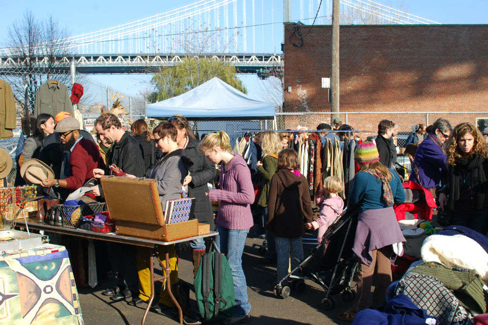 Brooklyn Bridge Flea