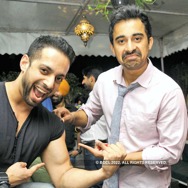 Rannvijay Singha at O Bar