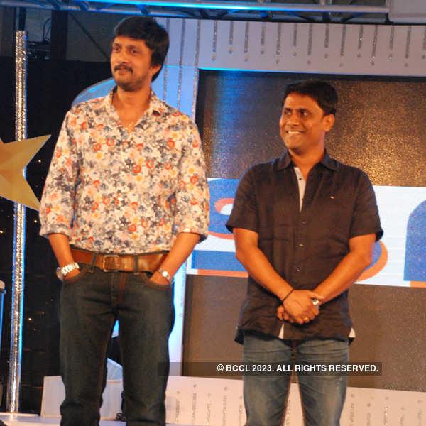 Kannada stars at a movie launch