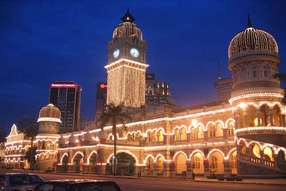 Bangunan Sultan Abdul Samad Kuala Lumpur Times Of India Travel