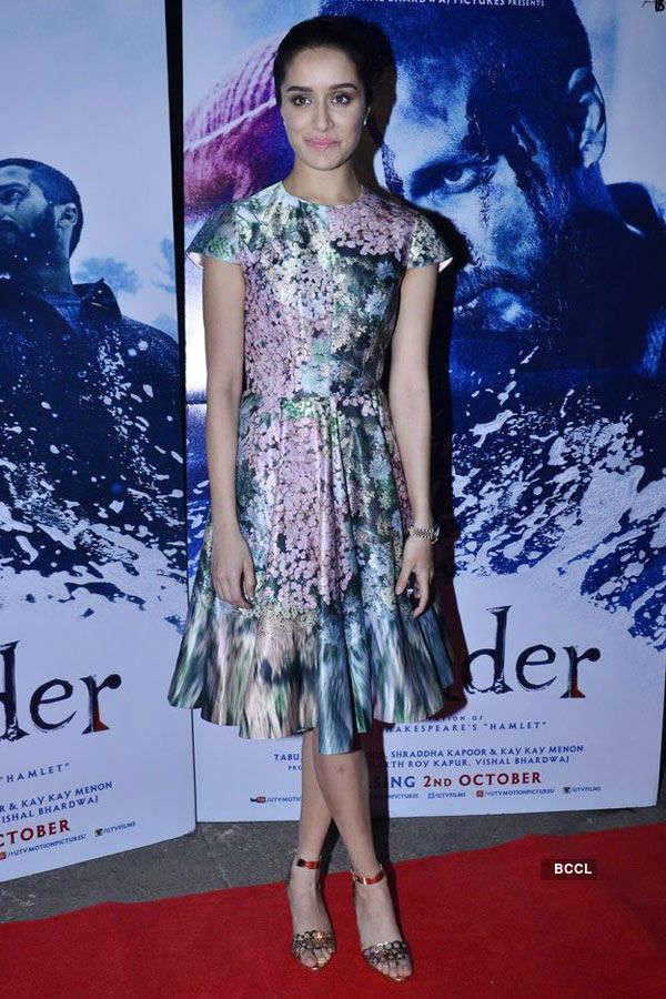 Haider: Premiere