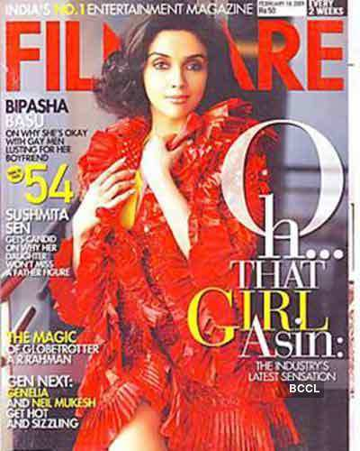 Asin: The cover girl