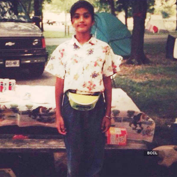 Childhood pictures of your favourite celebrities you don't want to give a miss!