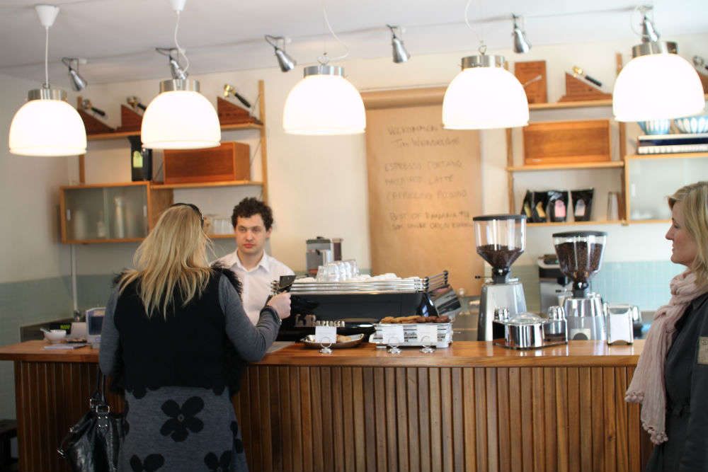Tim Wendelboe's Coffeeshop