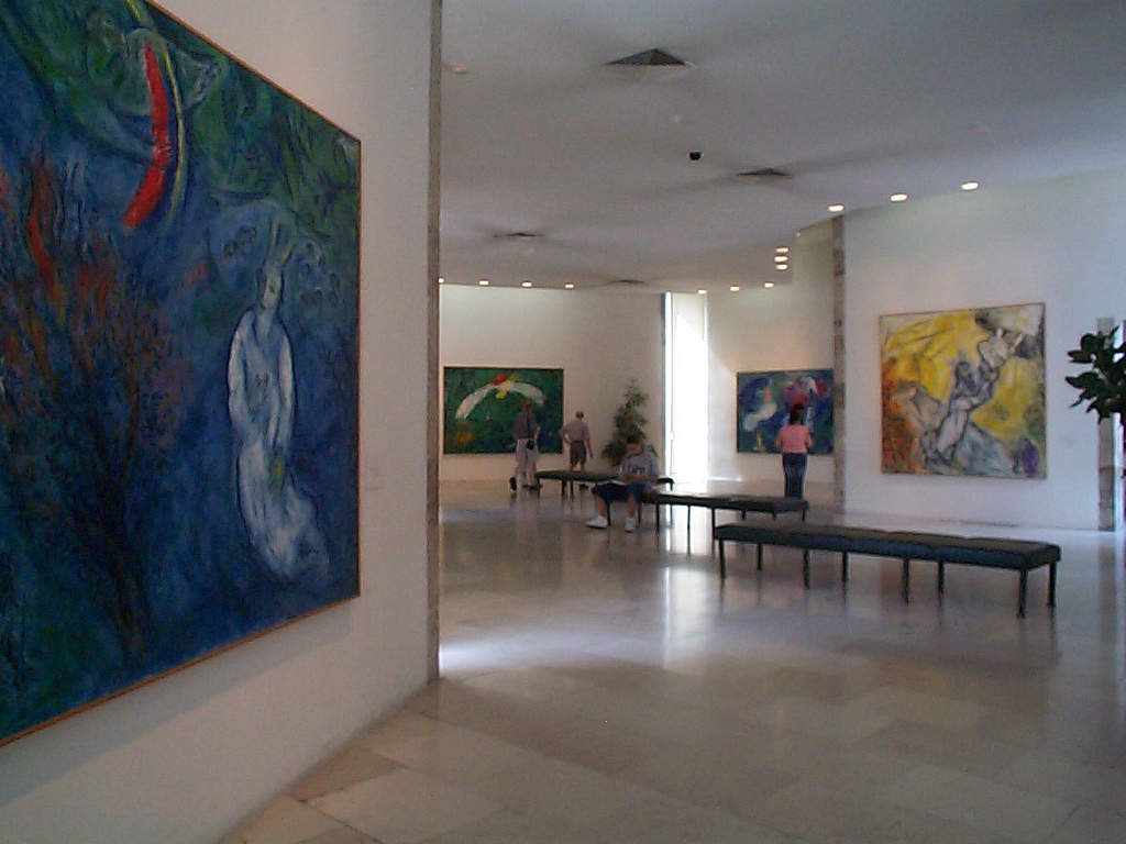 Musée National Message Biblique Marc Chagall