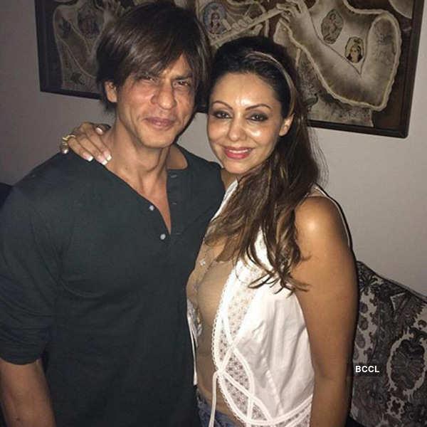Celebs at Gauri Khan's birthday party