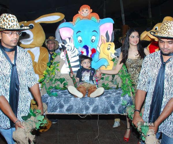 Bhushan Kumar's son Ruhaan's birthday party