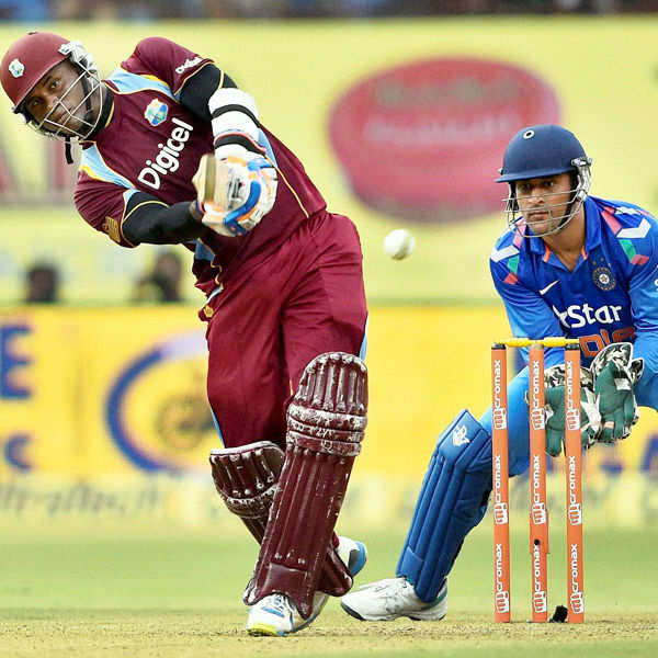 Samuels powers WI over India
