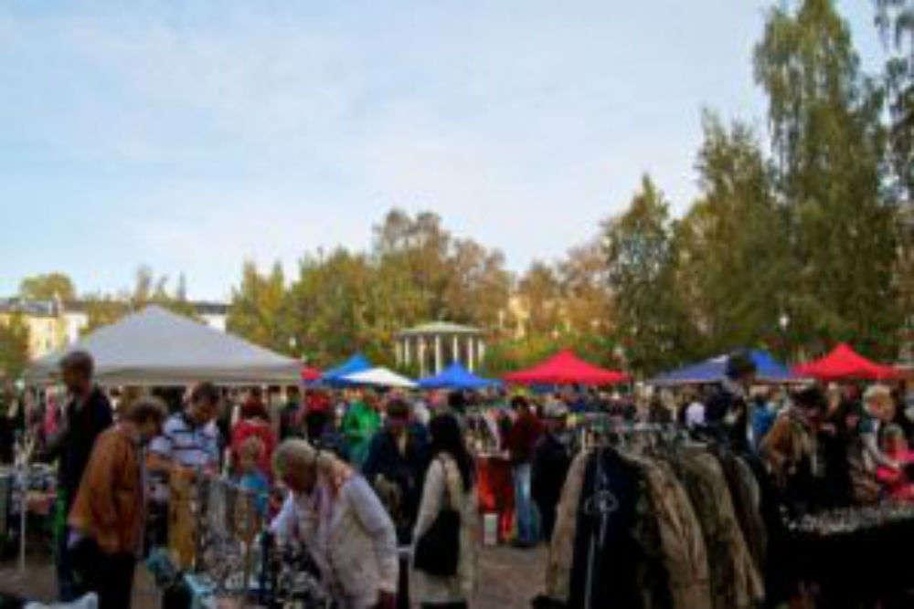 Birkelunden flea market