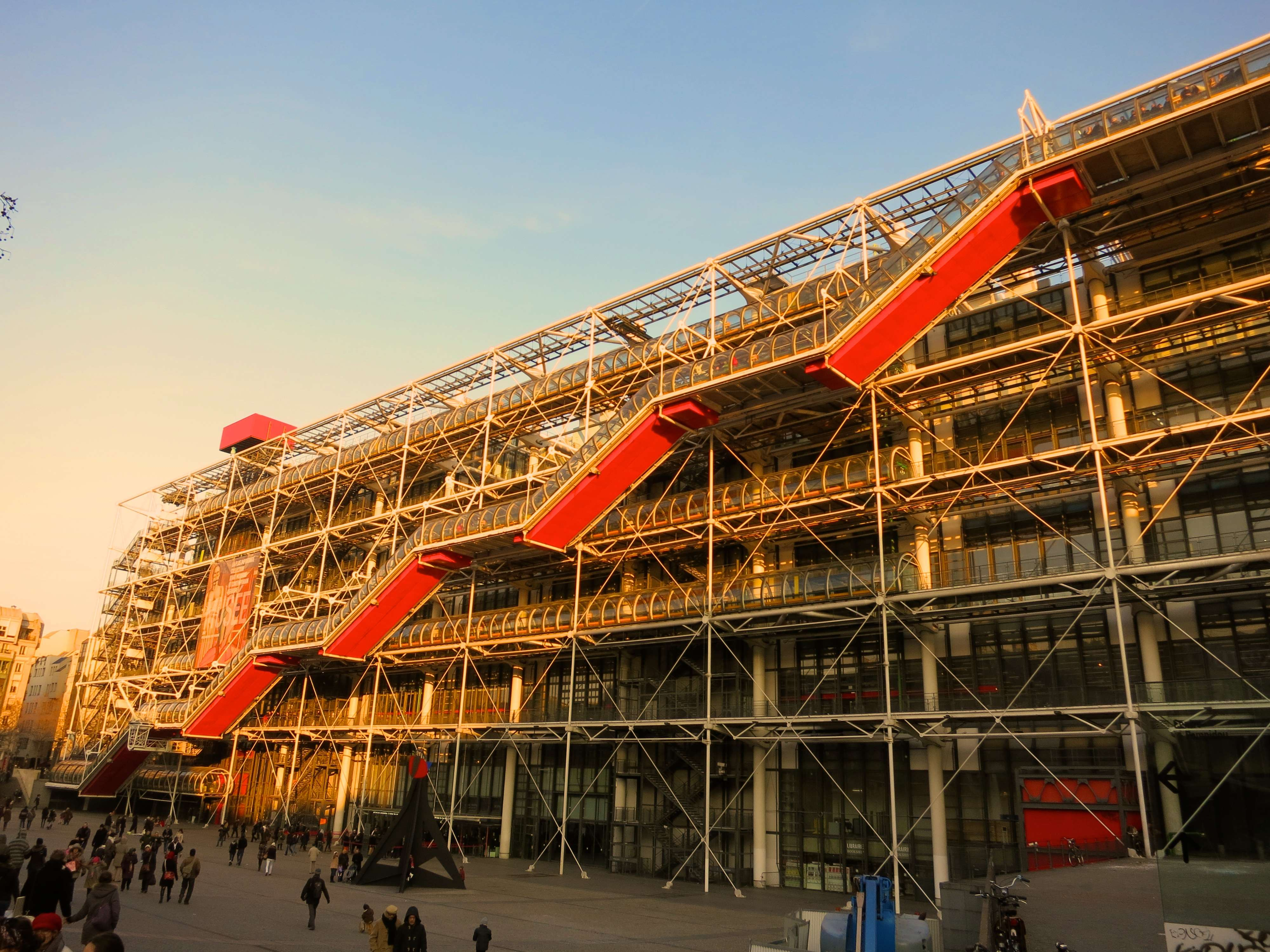 Beaubourg and Châtelet - Les Halles