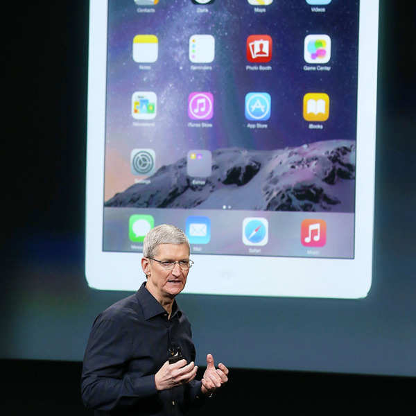 Apple launches super thin iPad Air 2