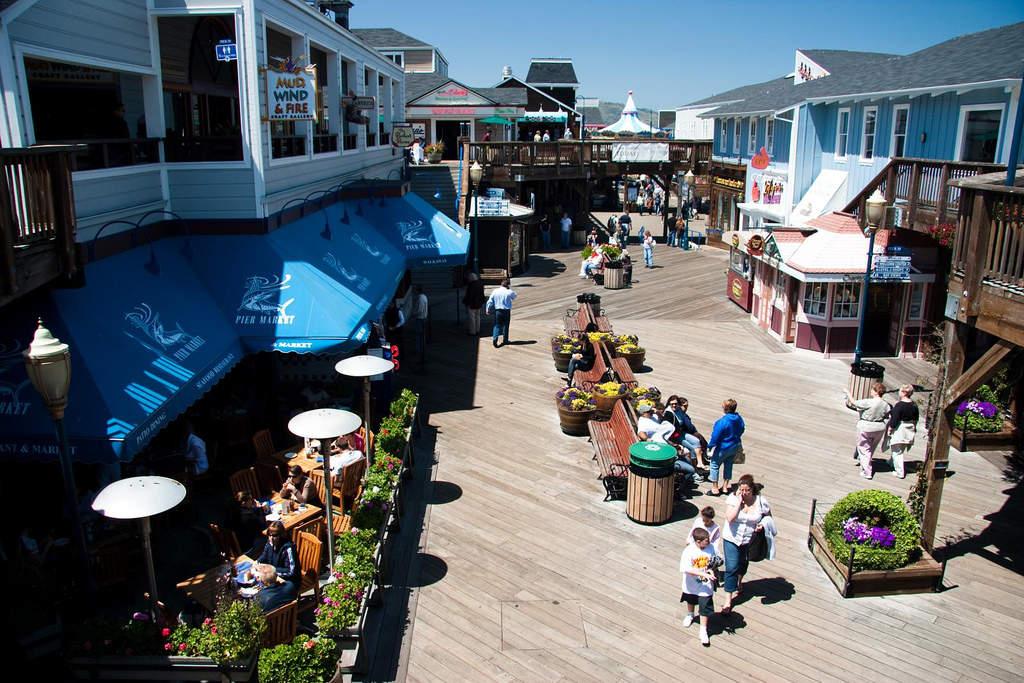 Fisherman's Wharf and Pier 39