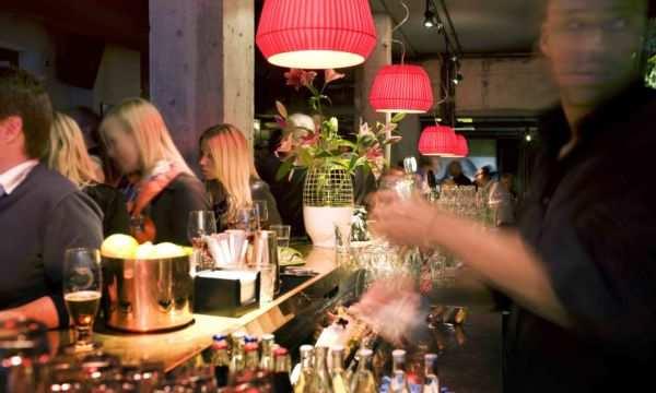 The bar at Story Hotel