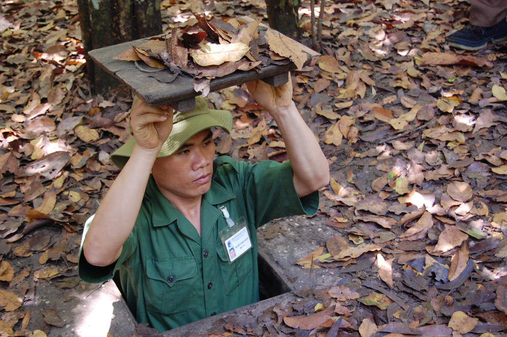 Explore the Cu Chi Tunnels