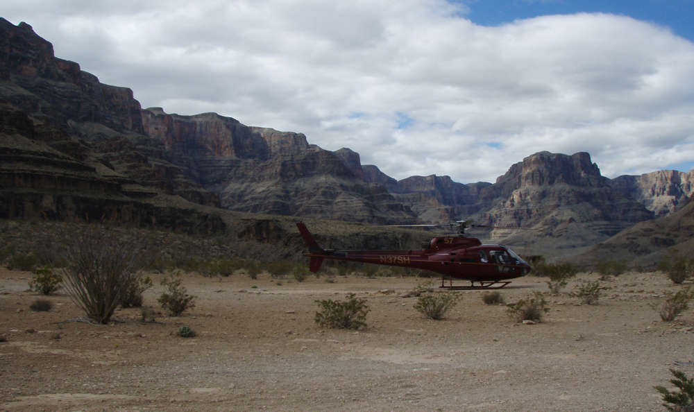 Take a helicopter tour