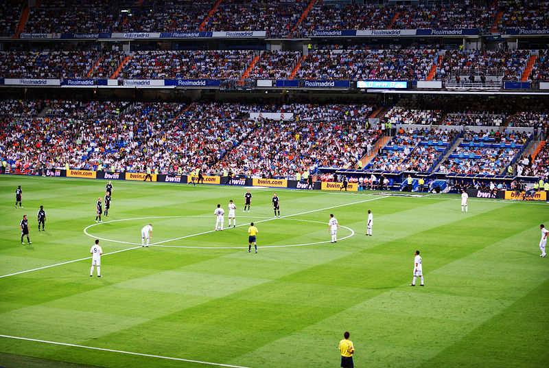 El Estádio de Santiago Bernabéu