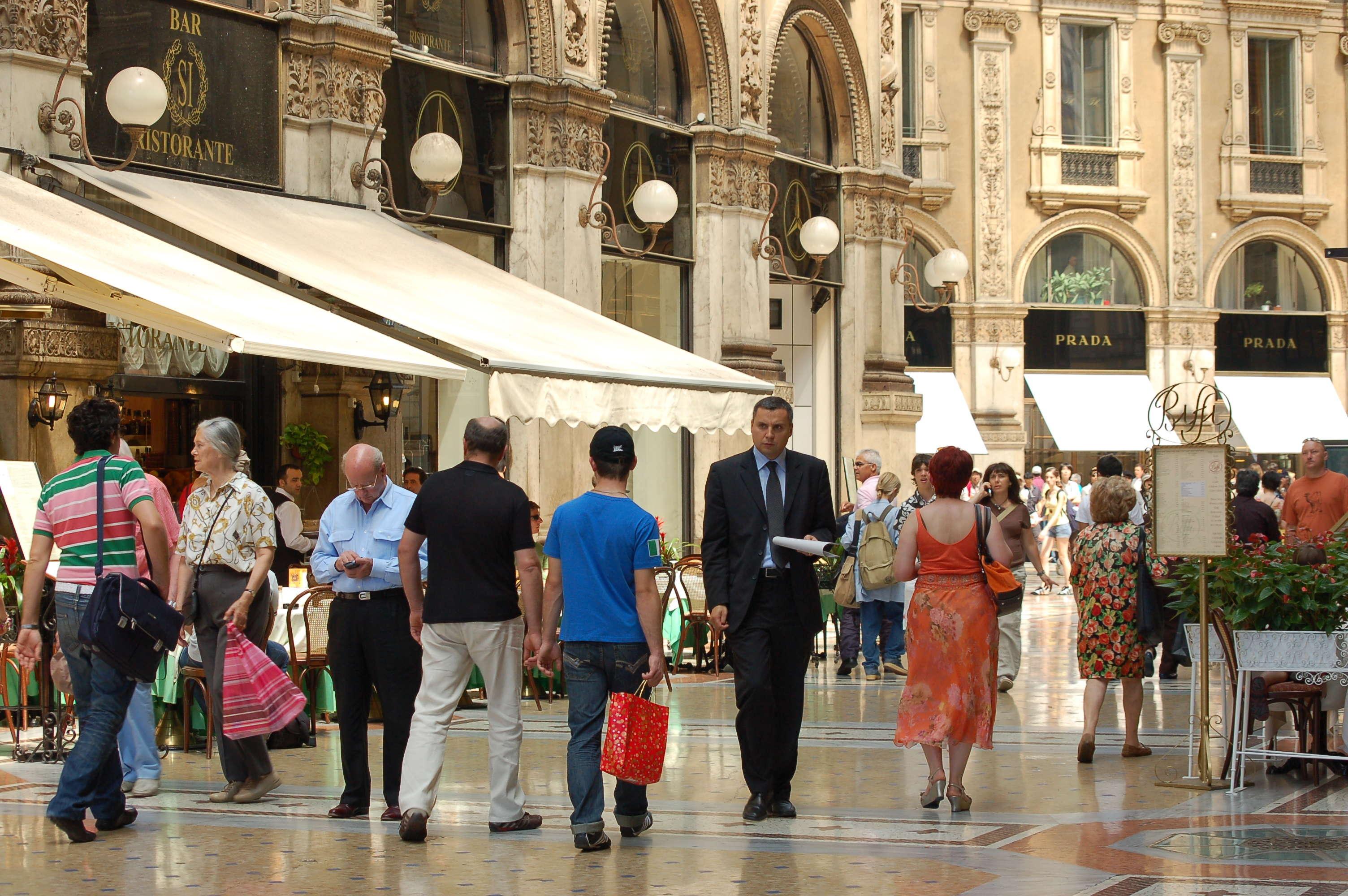 Galleria and Corso Vittorio Emanuele II