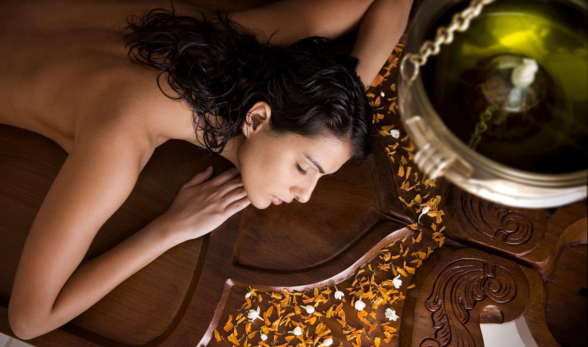 Get an Ayurvedic massage