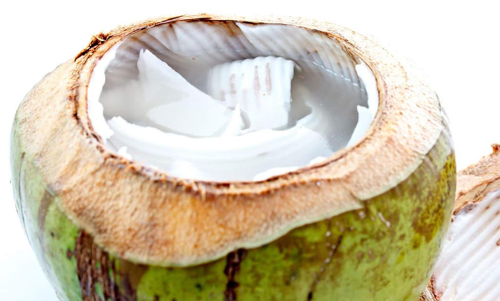 Street vendor coconut water