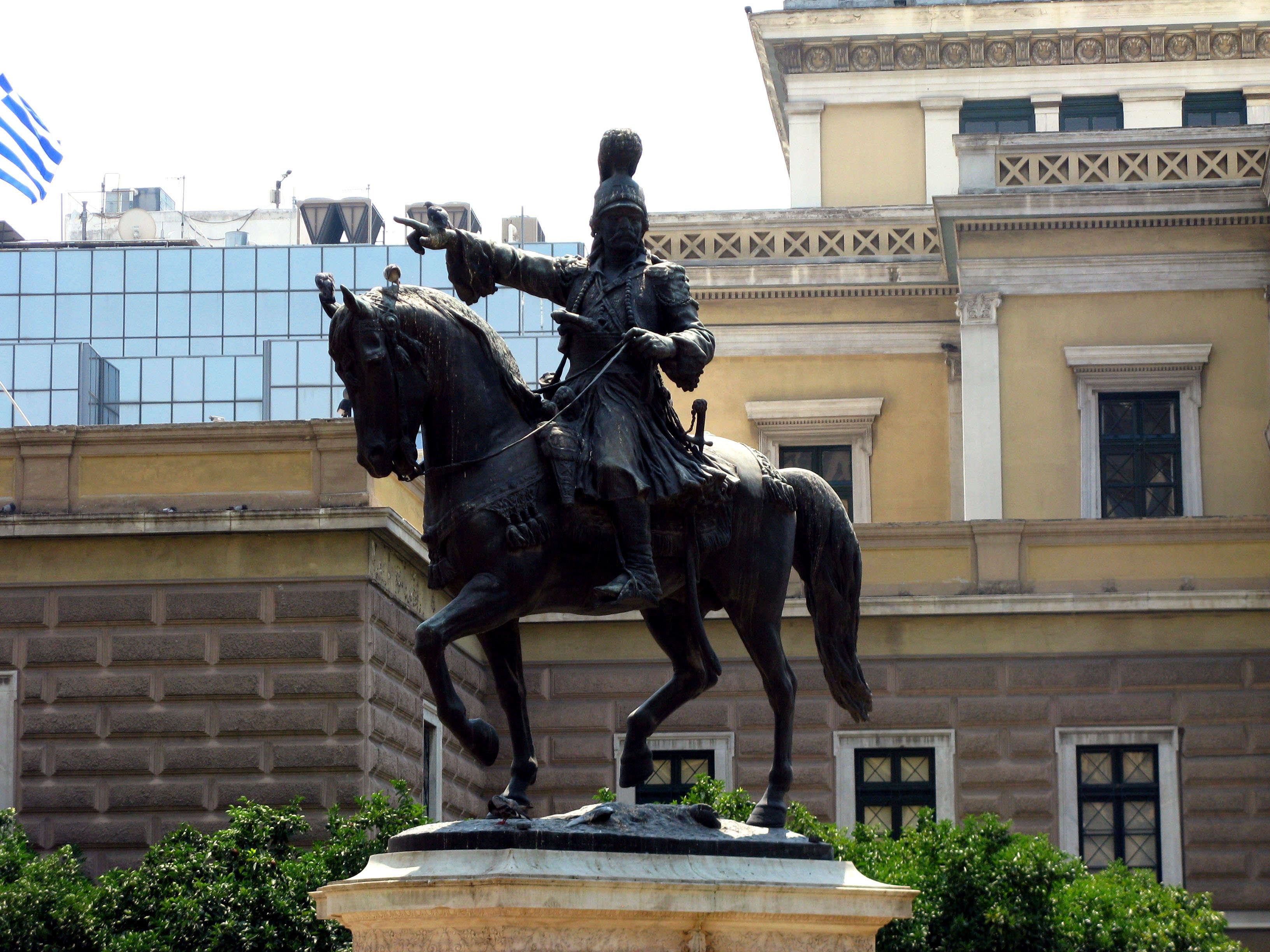 Syntagma, Kolonaki and Kolokotroni