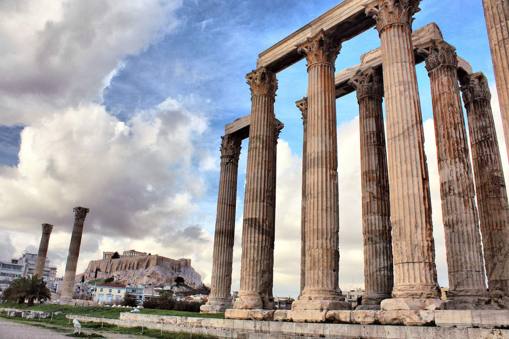 Temple of Olympian Zeus and Hadrian's Arch
