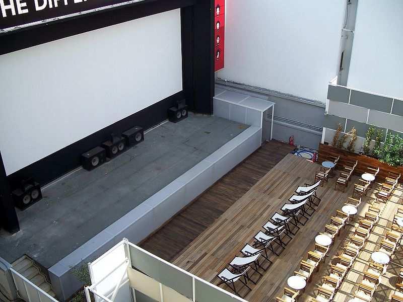 Open-air cinemas