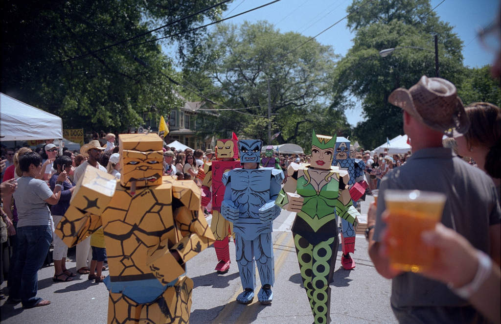 Inman Park and Little Five Points