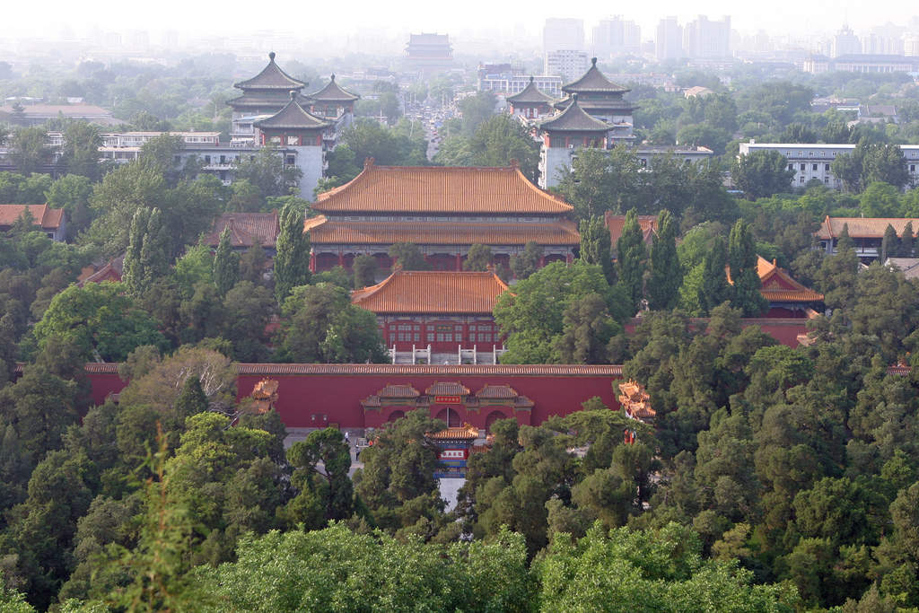 Tiananmen and surroundings