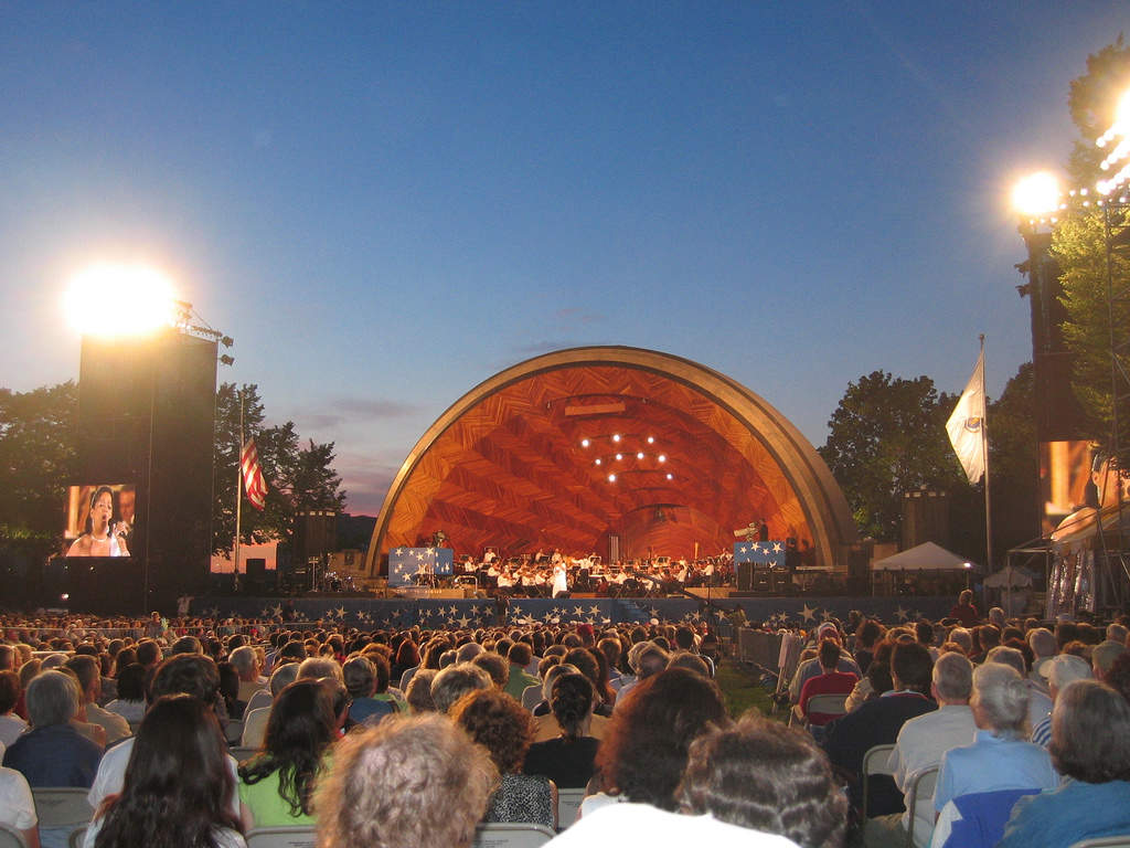 Free Concerts at the Hatch Shell