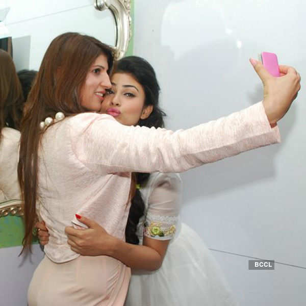 Mouni Roy launches skin whitening technology