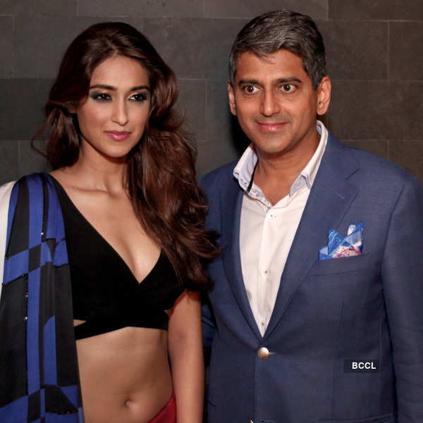 Ileana D'Cruz walks the ramp for Satya Paul
