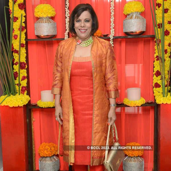 Karun Raman's pre-diwali party