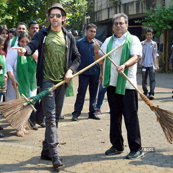 Celebs @ Swachh Bharat Campaign