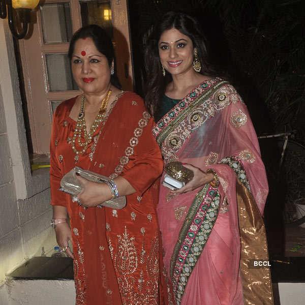 Celebs at Ekta Kapoor's Diwali party