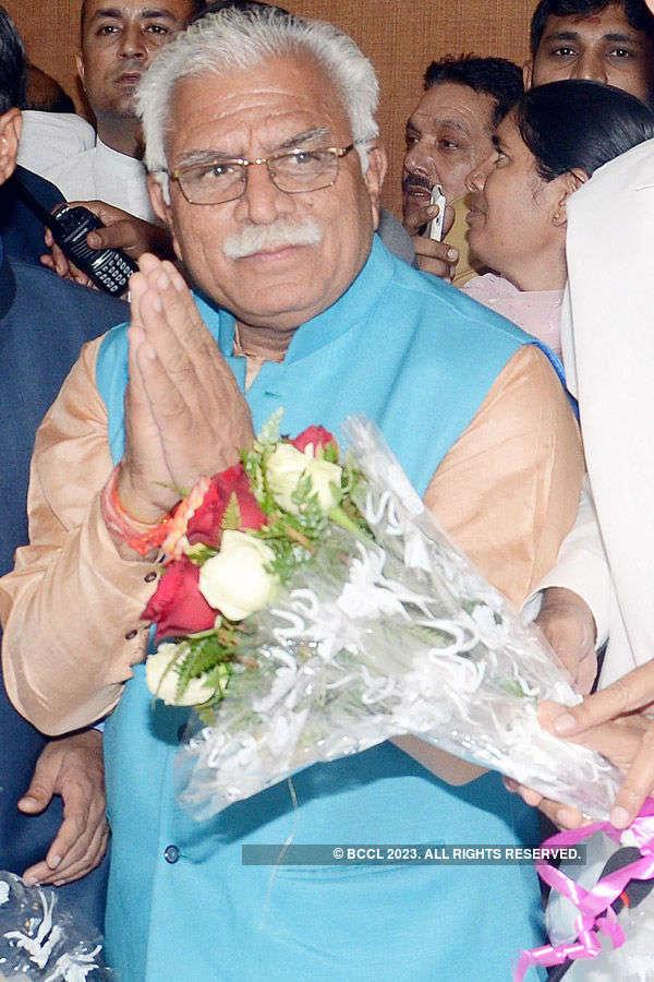 Khattar takes oath as Haryana CM