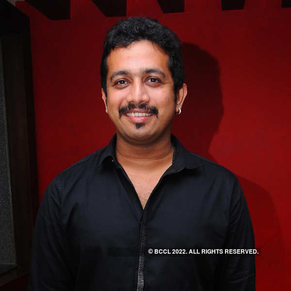 Celebs at an audio launch