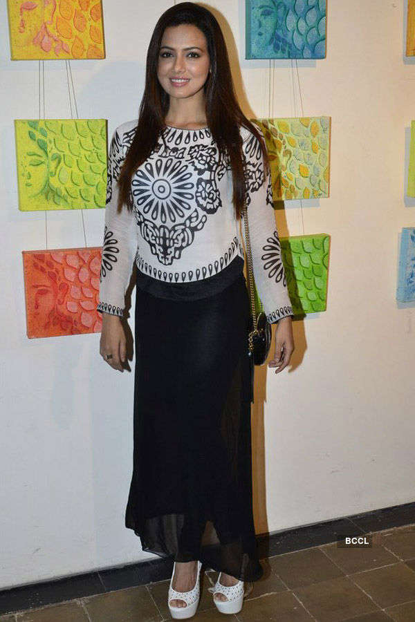 Celebs @ Art Exhibition