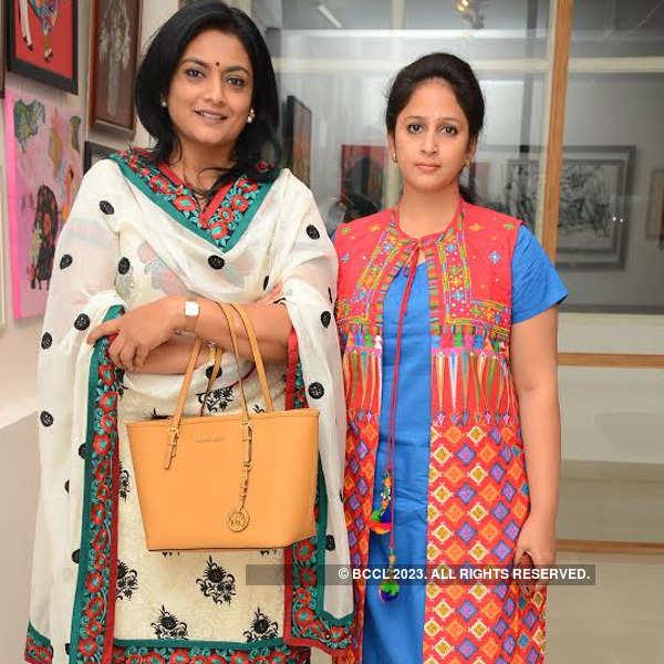 An art exhibition in Hyderabad