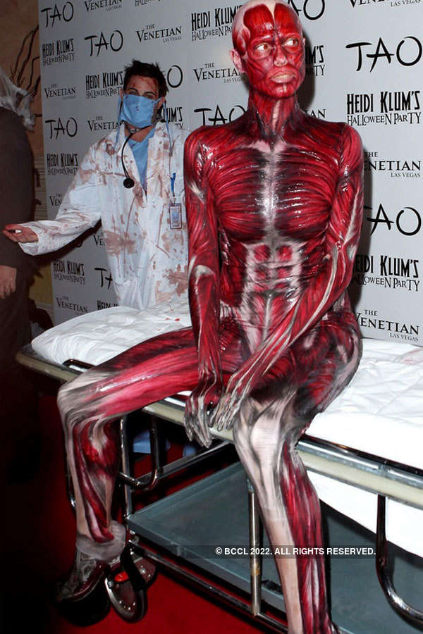 Celebrities get weird for Halloween