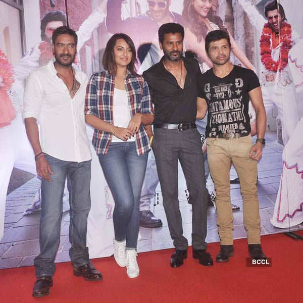 Action Jackson: Song launch