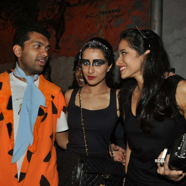 Aditya, Shraddha @ Halloween party